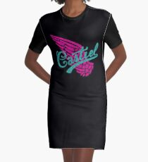 Cas Wing Graphic T-Shirt Dress