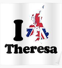 I Love Theresa May Poster