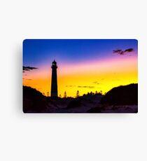 lighthouse early morning sunrise Canvas Print
