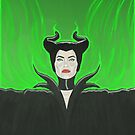 Maleficent my Queen by Mauro Balcazar