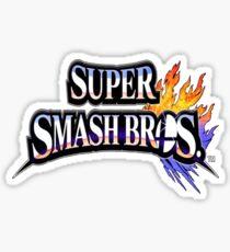 Super Smash Bros Shirt Sticker