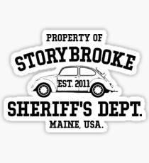 StoryBrooke - Sheriff's Department Sticker