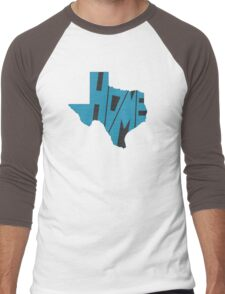 Texas HOME state design Men's Baseball ¾ T-Shirt