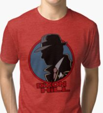 Dixon Hill is on the case Tri-blend T-Shirt
