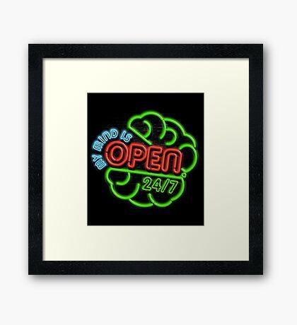 Grand Opening Framed Print