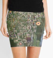 Computer Guts Mini Skirt