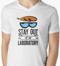 Stay Out of My Laboratory - Dexter T-Shirt