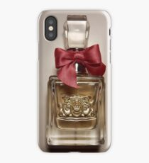 Viva La Juicy - Juicy Couture Perfume Bottle with Pink Bow iPhone Case/Skin