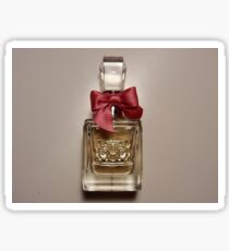 Viva La Juicy - Juicy Couture Perfume Bottle with Pink Bow Sticker