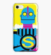 The Iron Giant - CMYK iPhone Case/Skin