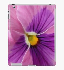 Pink Purple Pansy  iPad Case/Skin