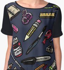 Art Supplies Bonanza!!! Women's Chiffon Top
