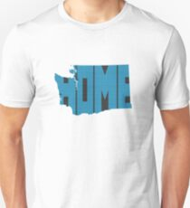 Washington HOME state design Unisex T-Shirt