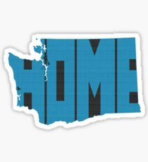 Washington HOME state design Sticker