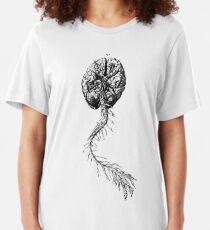 Brain Anatomy Slim Fit T-Shirt