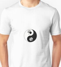 Coyote Therian Ying/Yang Unisex T-Shirt