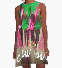 CREW LOVE 3 A-Line Dress