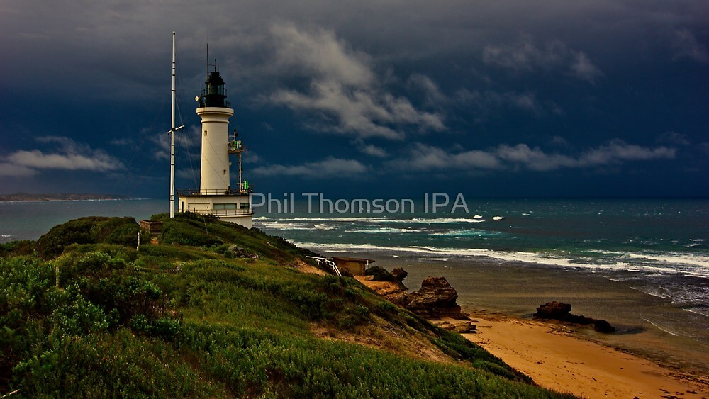 """""""Stormy Sunday At The Rip"""". by Phil Thomson IPA"""