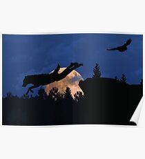 Werewolf - Supermoon Poster