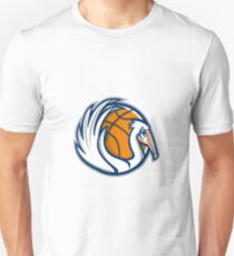 Pelican Wings Basketball Retro T-Shirt