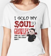 I Sold My Soul to Crowley... Women's Relaxed Fit T-Shirt