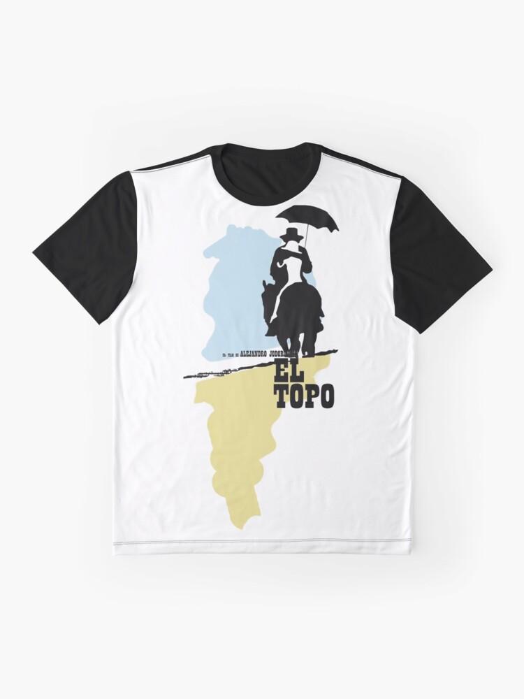 Alternative Ansicht von Der Maulwurf - metaphysischer Westen von Jodorowsky (farbig) Grafik T-Shirt