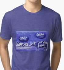My Creations Artistic Sculpture Relief fact Main 23  (c)(t) by Olao-Olavia / Okaio Créations Tri-blend T-Shirt