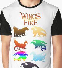 Flügel der Feuerstämme Grafik T-Shirt