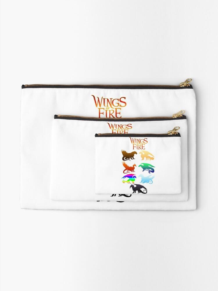 Alternative Ansicht von Flügel der Feuerstämme Täschchen