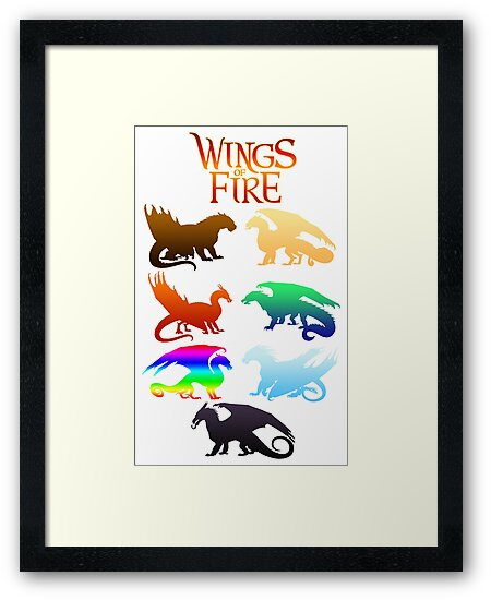 Wings of Fire Tribes by VibrantEchoes