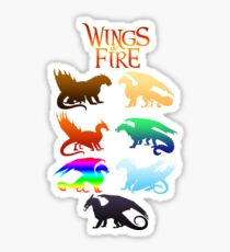 Wings of Fire Tribes Sticker