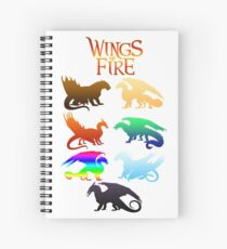 Wings of Fire Tribes Spiral Notebook
