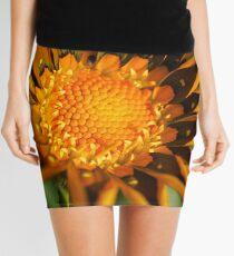 Macro Flower  Mini Skirt