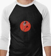 Skelett Kickboxer Men's Baseball ¾ T-Shirt