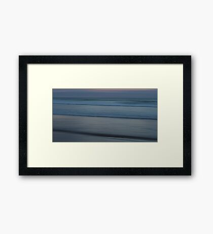 Infinite Silence Framed Print