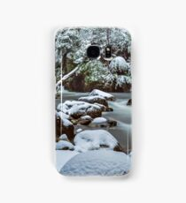 White on Green Samsung Galaxy Case/Skin