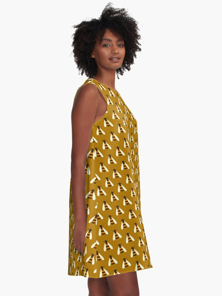 Alternate view of Save the Bees. A-Line Dress