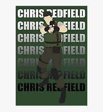 Chris Redfield  Resident Evil Remake version Photographic Print