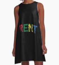 Rent the musical A-Line Dress