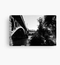 Seville - Triana bridge Canvas Print