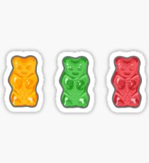 Vivid Gummy Bears Sticker