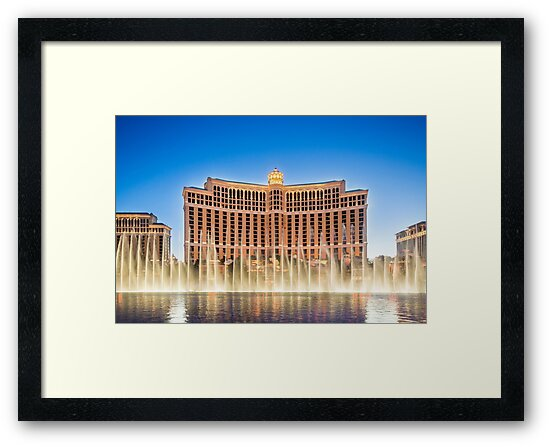 The Bellagio Hotel and Casino along the Strip in Las Vegas, Nevada. by PhotoStock-Isra