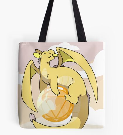 Citrine Dragon Tote Bag