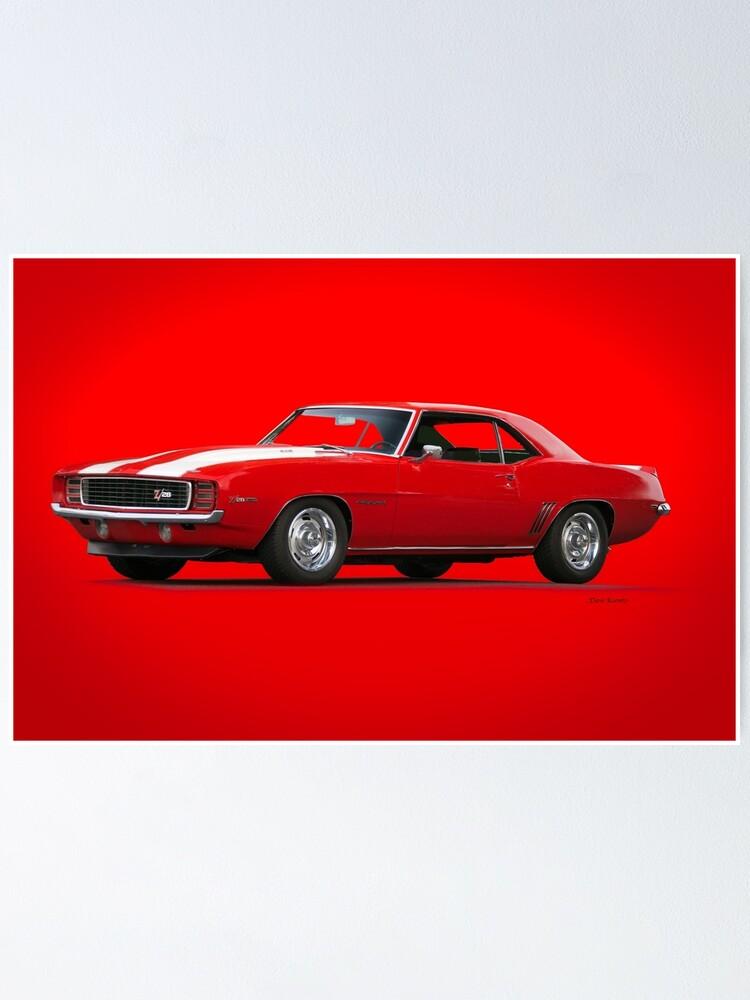 1969 Camaro Z28 Rs I Poster