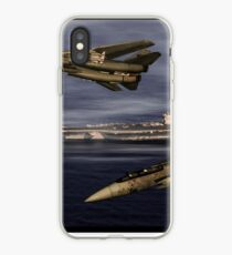 F-14 and the USS Nimitz iPhone Case