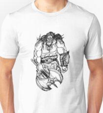 Barbarian Sketch Unisex T-Shirt