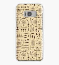 American Indians Pattern Samsung Galaxy Case/Skin