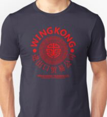 WING KONG - BIG TROUBLE IN LITTLE CHINA JACK BURTON (RED) T-Shirt