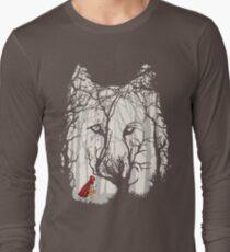 Little Red Woods Run Long Sleeve T-Shirt