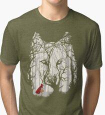 Little Red Woods Run Tri-blend T-Shirt